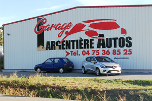 Photo du garage à LARGENTIERE : Garage Largentiere Autos